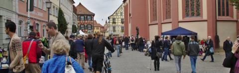 07 Flohmarkt in der Sandstraße © Ralf Saalmüller