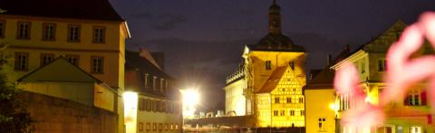 Altes Rathaus in der Nacht © Ralf Saalmüller